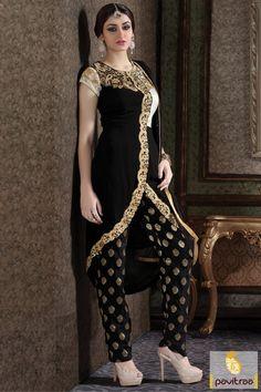 #Black Color #Western Style Viscose #Georgette Party Wear Dress Kameez  #salwarkameez, #newyeardresses, #designersalwarsuits, #bollywoodsalwarsuits, #anarkalisalwarsuits, #straightsalwarsuits, #embroiderysalwarsuits, #wholesalecatalog, #churidarsuit, #palazzo, #festivaloffer Call/ WhatsApp : +91-7698234040 Email _Id : info@pavitraa.in   http://www.pavitraa.in/store/embroidery-salwar-suit/?utm_source=pk&utm_medium=pinterestpost&utm_campaign=24Feb