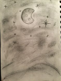 My art (original). Done with a charcoal pencil