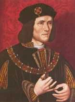 King Richard III (1483 - 1485) The son of Richard, Duke of York, He distinguished himself in the Wars of the Roses. On Edward's death 1483 he became protector to his nephew Edward V, and  secured the crown for himself on the plea that Edward IV's sons were illegitimate. He proved a capable ruler, but the suspicion that he murdered Edward V undermined his popularity. In 1485 Henry, Earl of Richmond (later Henry VII), raised a rebellion, and Richard III was defeated and killed at Bosworth.