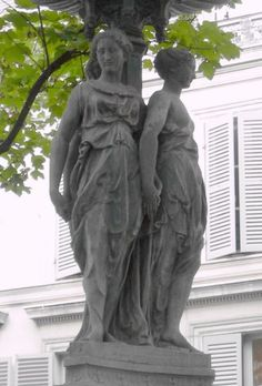 Francisque-Joseph Duret : Fontaine Trévise Paris IX