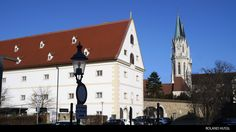 Klosterneuburg Abbey, Austria One of the Foundation of Austria between and century by the Babenberg Markgrave Leopold III who later became St. 12th Century, Austria, Foundation, Mansions, House Styles, Photography, Home Decor, Photograph, Decoration Home