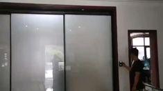 Sliding Room Dividers, Sliding Door Systems, Sliding Glass Door, Big Windows, Windows And Doors, Modern Wood Doors, Automatic Sliding Doors, Sliding Door Window Treatments, Welcome Signs Front Door