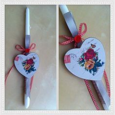 By Stella Handicrafts! Easter Projects, Easter Crafts, Decoupage, Handicraft, Easter Candle, Candles, Spring, Dyi, Decor