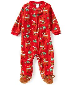PJ Salvage Fox Flannel Pajama Set...love these cute little ...
