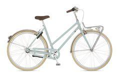 union flow dames fiets stadsfiets retro
