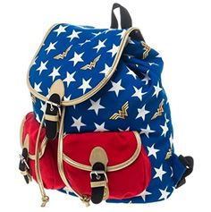 Wonder Woman Stars Knapsack! Order yours here ➩➩ http://amzn.to/2qEJ9sc