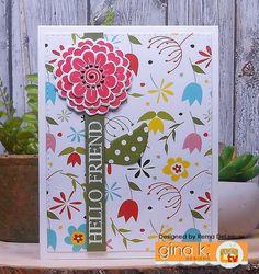 Paper Panache: Gina K Designs – StampTV Kit Inspiration Blog Hop – Day 1