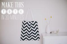 Πώς να φτιάξετε μία φανταστική τσάντα tote bag σε 30 λεπτά + 40 μοναδικές ιδέες! | Φτιάξτο μόνος σου - Κατασκευές DIY - Do it yourself