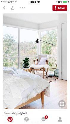 Interior Exterior, Home Interior, Interior Architecture, Dream Bedroom, Home Bedroom, Bedroom Decor, Calm Bedroom, Airy Bedroom, Light Bedroom