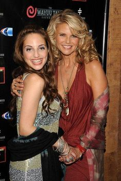 alexa ray joel & mom, Christie brinkley