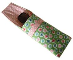Pattern and tutorial for glasses case (Brillenetui selber nähen - BRIGITTE.de)