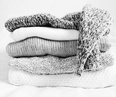 speckled knits