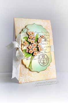 Penny Black Stamp - Scented Message by Cathy Fongjoyo