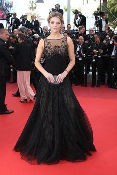 Mischa Barton in Georges Hobeika - Cannes 2016