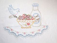 <3 Crabapple Hill Berry Picking Party embroidery pattern