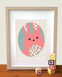 Children's art print digital illustration. by simplymeandher, $20.00