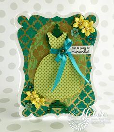 Hilda Designs: Reto de Marzo en SCC: Tarjeta Moda y Combo Color