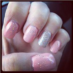 Gelish acrylic nails