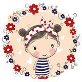 Cute Cartoon Girl - Download From Over 55 Million High Quality Stock Photos, Images, Vectors. Sign up for FREE today. Image: 73279739