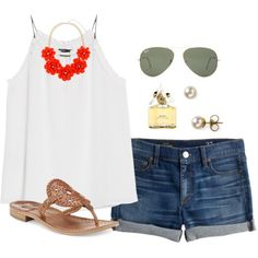 """""""4th of July!"""" by thevirginiaprep on Polyvore"""