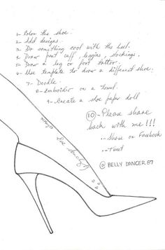 Shoe templates on pinterest paper shoes templates and for High heel shoe design template
