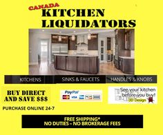 Kitchen Cabinets - Factory Prices Delivered Right To Your Front Door Kitchen Cost, Cheap Kitchen Cabinets, Kitchen Sink Faucets, Kitchen Cabinet Doors, Faucet Handles, Victorian Decor, Cabinet Furniture, Luxury Home Decor, Beautiful Kitchens