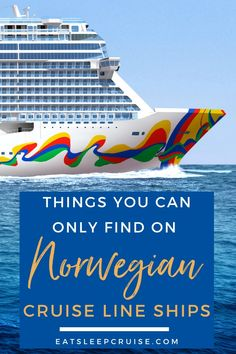 See why NCL ranks among the top cruise lines for families and couples alike with our Top 10 Things You Can Only Find on Norwegian Cruise Line ships. Cruise Checklist, Packing List For Cruise, Cruise Tips, Cruise Travel, Cruise Vacation, Disney Cruise, Vacation Destinations, Vacation Ideas, Cruise Ship Reviews