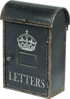The Letters Mailbox from Urban Barn is a unique home decor item. Urban Barn carries a variety of View All New and other  products furnishings.