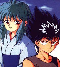 Yukina and Hiei Hunter Anime, Hunter X Hunter, Yu Yu Hakusho Hiei, Yoshihiro Togashi, Wolfenstein, Child Life, Kawaii Anime Girl, Aesthetic Art, Sailor Moon