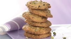 Cherry-Chocolate-Pistachio Cookies from Cooking Club.