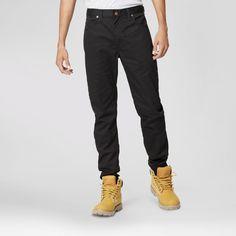 Dickies Men's Slim Skinny Fit Flex 5-Pocket Pant- Black 38x32