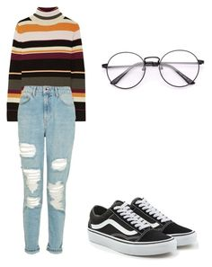 """The 80s trend"" by rand0mgirl1230 on Polyvore featuring Vans, Paul & Joe and Topshop"