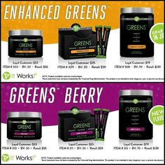 Orange AND the new Berry flavor!• Acidity-fighting magnesium & potassium• Better pH balancing results• Probiotic support• Keep toxins flowing out with a better digestive system.   I can help you get healthy and wealthy.  Triple Diamond Distributor - http://dianeb.myitworks.com
