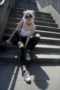 Resultado de imagen de outfit grunge