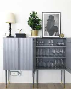 How to transform ivar cabinet from IKEA to luxurious and modern home styling. Unique Bedroom Furniture, Bedroom Furniture Makeover, Sideboard Furniture, Diy Furniture Projects, Ikea Furniture, Furniture Design, Furniture Storage, White Furniture, Upcycled Furniture