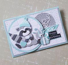 Pop Up Christmas Cards, Pop Up Cards, Homemade Birthday Cards, Kids Birthday Cards, Baby Cards, Kids Cards, Marianne Design Cards, Elizabeth Craft Designs, Spellbinders Cards