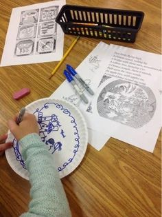 Blue Willow in 2nd grade | Mrs. Knight's Smartest Artists | Bloglovin'