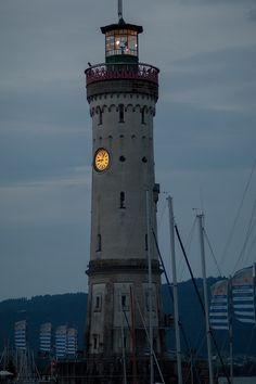 Leuchtturm am Lindauer Hafen