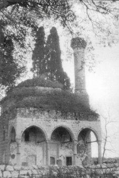 Ιμαρέτ, Τζαμί Φαίκ Πασά, 1910 Thessaloniki, Greece, Island, Ottoman, Lost, Painting, Outdoor, Love, Greece Country