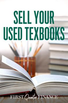Put your old textbooks to good use and make a few bucks by selling them. Learn where to sell, donate or recycle your old college textbooks. It's an easy way to make a little extra money. Way To Make Money, Make Money Online, How To Make, Sell Textbooks, Where To Sell, Work From Home Jobs, Online Jobs, Extra Money, Recycling