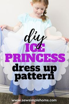 Ice Queen Play Dress Tutorial   Free Icicle Cut Files Grab this free pattern and learn how to make a queen Elsa costume for your little preschooler or toddler.