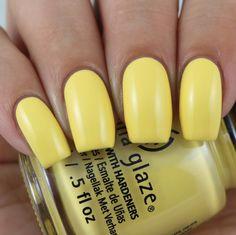 China Glaze Werk It Honey! swatched by Olivia Jade Nails Light Nail Polish, Nail Polish Dupes, China Glaze Nail Polish, Gel Polish, Uv Gel Nails, Diy Nails, Manicure, Jade Nails, Chalkboard Nails