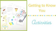 Getting to know you activities....groan! Well groan no more with these exciting getting to know you activities and games that will have your students learning all about....