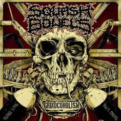 THRASHDEATHGERA: Squash Bowels - Grindcoholism (2013), Goregrind