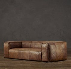 Fulham Leather Sofa - Restoration Hardware