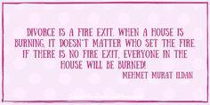 Don't let yourself be burned up by your divorce. SupportForDivorcedWomen.com