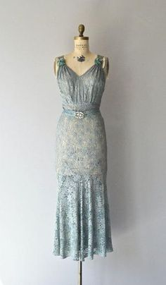 1930's Fontainebleau gown by vivian