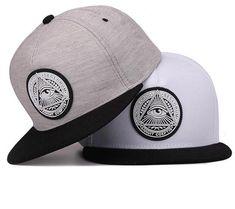 Awesome fitting SnapBack illuminati Design Baseball Hats 63d73f67e13e