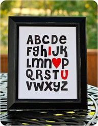 """use up some of those letter stickers!"" or have the students create a Mother's Day card by writing the letters in black and white crayons"