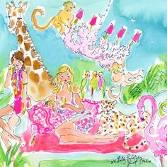 START. THE. COUNTDOWN. Only 4 days until National Wear Your Lilly Day #SummerInLilly #Lilly5x5